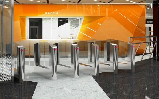 На станции «Воронцовская» БКЛ началось строительство входных павильонов