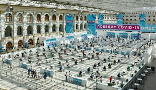 Собянин: первый компонент вакцины уже получили 4 млн москвичей