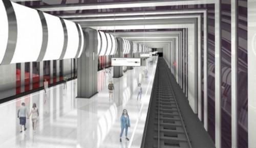 Строящейся станции метро Троицкой линии в районе Ленинского проспекта присвоили название