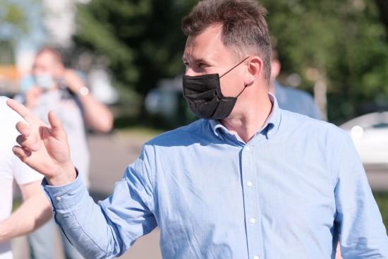 Роман Романенко помог с организацией пешеходных переходов на юго-западе Москвы
