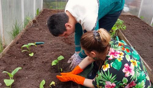"""Центр """"Юнона"""" в Конькове помогает детям с ограниченными возможностями здоровья поближе познакомиться с природой"""