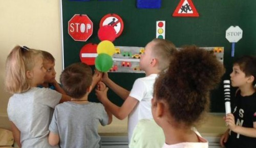 В школе №1103 Ясенева прошла неделя «Юного пешехода»