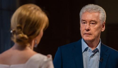 Сергей Собянин в ходе встречи с москвичами обсудил вопросы развития ЗАО