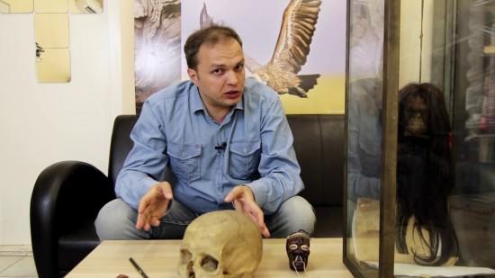 В Дарвиновском музее показали человеческую голову -  Тсанса