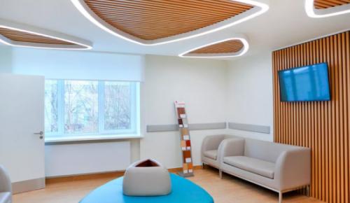 В Черемушках проводится капитальный ремонт первого филиала детской поликлиники № 69