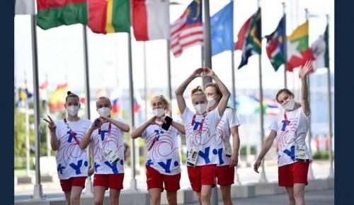 """Воспитанница """"Самбо-70"""" выступит в финале командного первенства по спортивной гимнастике на Олимпиаде в Токио"""
