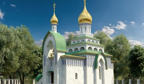 Работы на цокольном этаже храма Святителя Луки при ГКБ Виноградова завершены