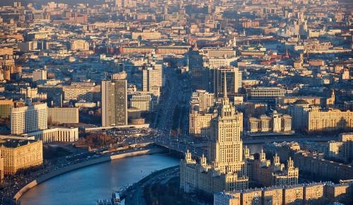 Сергунина: Более 500 тыс человек работает в сфере туризма Москвы