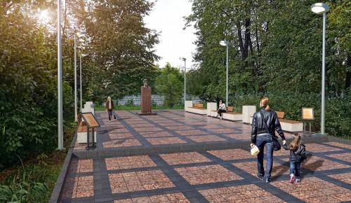 Собянин рассказал о благоустройстве скверов и пешеходных зон на юго-востоке Москвы