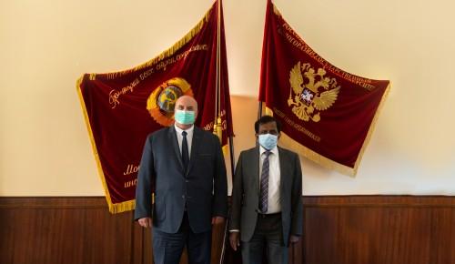 Делегация Посольства Шри-Ланки посетила МГРИ