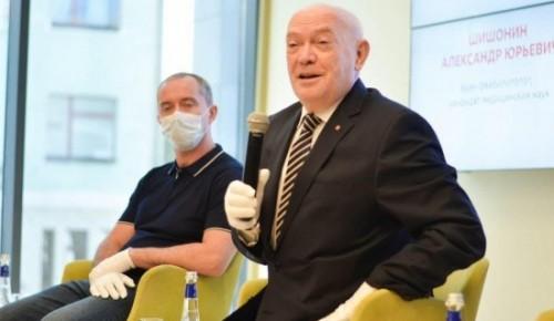 Доктор Шишонин поддержал идею Румянцева изменить систему медобслуживания пожилых