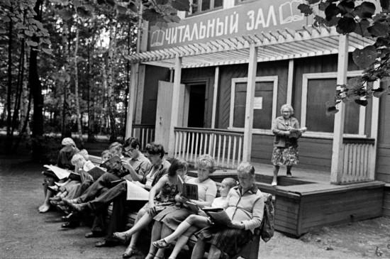 Главархив рассказал о летнем отдыхе москвичей в начале 1960-х годов