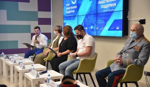 Роман Романенко обсудил с волонтёрами и «молодогвардейцами» вопросы патриотического воспитания