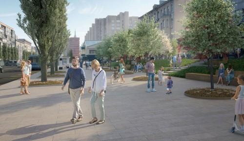 Собянин: Москва продолжает программу формирования комфортной городской среды