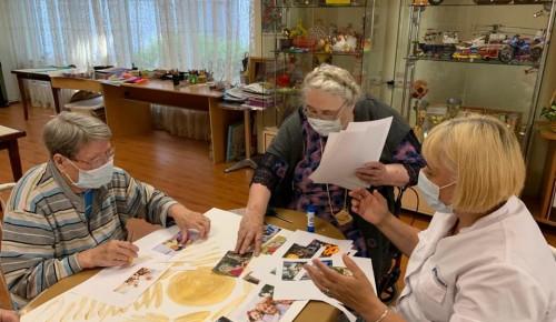 """В пансионате для ветеранов труда №6 прошло занятие по арт-терапии """"Пожелания"""""""