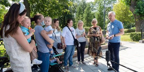 Собянин: Москва продолжает формировать комфортную городскую среду