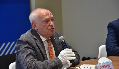 Главный онколог Москвы отметил достижения академика Румянцева в организации онкологической помощи