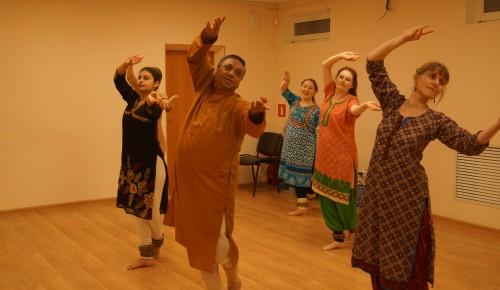 В «Хорошем настроении» работает студия индийского танца «Таранг»