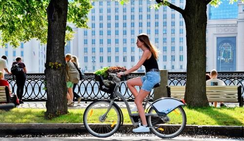 Для любителей двухколесного транспорта в столице появилось еще три километра велополос