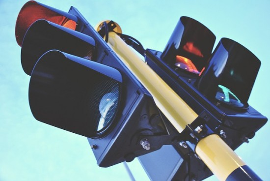 В Академическом районе  начал работу светофор с  совмещенной фазой