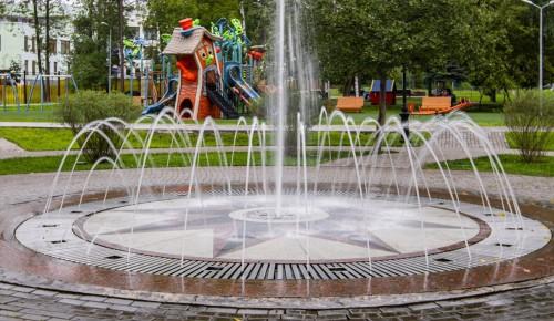 В Обручевском районе завершаются масштабные работы по благоустройству