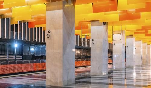 На 90 процентов оценивается готовность станции «Новаторская» БКЛ