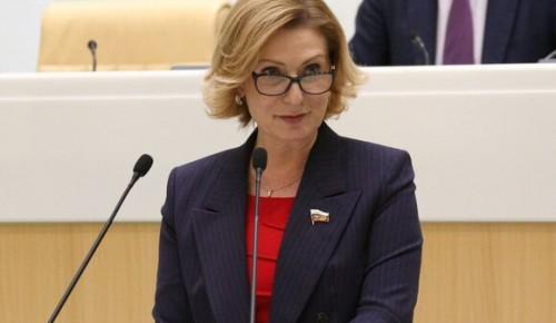 Сенатор РФ Инна Святенко возглавила попечительский совет ассоциации «Женщины в погонах»