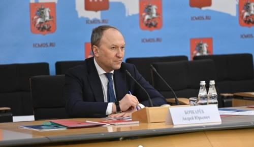 Андрей Бочкарев: Завершены монолитные работы в лечебно-диагностическом комплексе МКНЦ имени Логинова