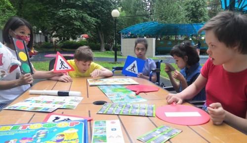 Воспитанники центра «Юнона» приняли участие в акции «Безопасность детства»