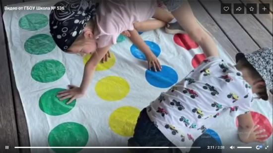 В школе №536 опубликовали новый ролик в рубрике «Видеоконтент от дошкольных корпусов»