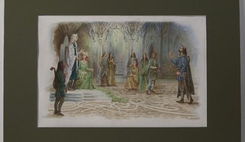 Академия акварели рассказала о дипломной работе своей выпускницы по мотивам произведения Толкина