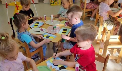 Детсадовцы из Академического района познакомились с миром насекомых