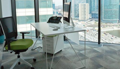 Московский экспорт офисной мебели и техники увеличился в два раза