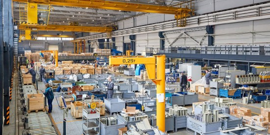 Столичный экспорт офисной мебели и техники увеличился в два раза