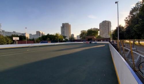В конце августа закончится ремонт катка с искусственным льдом «Снежинка» в парке «70-летия Победы»