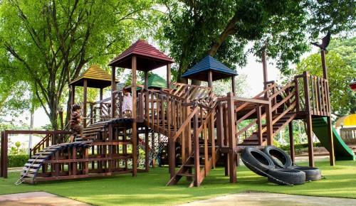В Ясеневе до конца 2021 года установят более 40 детских и спортивных площадок