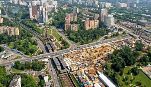 Собянин рассказал о реализации инфраструктурных проектов в Крылатском