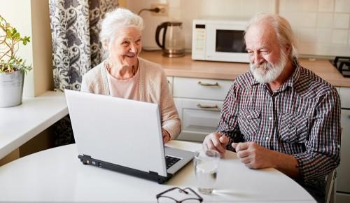 В новых онлайн-мероприятиях от социальных центров могут принять участие пенсионеры из Обручевского района