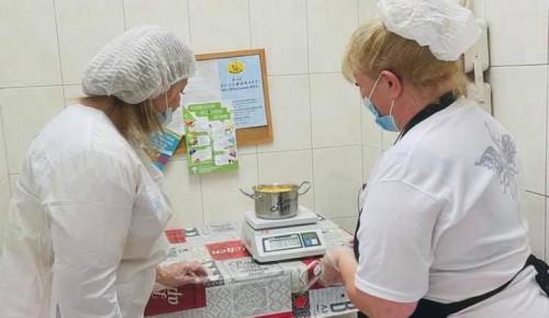 В школе №1206 Ясенева провели мониторинг организации питания дошкольников