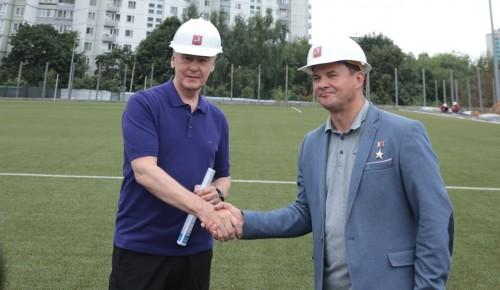 Роман Романенко раскрыл детали проекта развития любительского спорта в Ясеневе