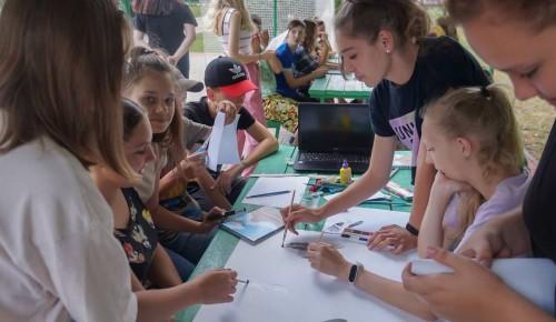 Студенты МГРИ рассказали о мире геологии участникам профильной смены лагеря «Лесная сказка»