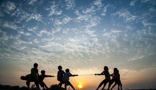 Воспитанники «Альмеги» поучаствовали в окружных соревнованиях в честь Дня физкультурника