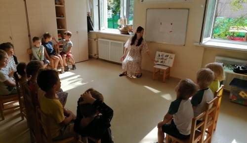 Для дошкольников Академического района прошел цикл мероприятий «Спешите делать добро»
