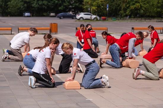 В РНИМУ имени Пирогова прошло обучение инструкторов по оказанию первой помощи