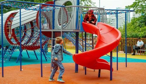 Более 40 спортивных и детских площадок обустроили в Ясеневе