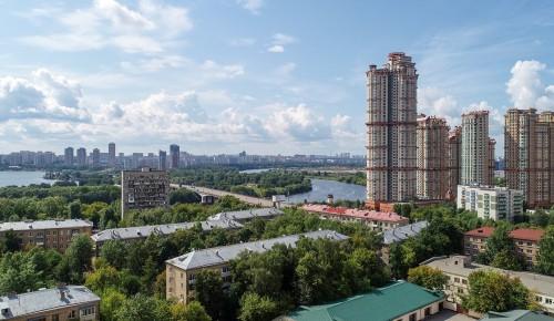 Собянин рассказал о создании качественной городской среды в районах СЗАО