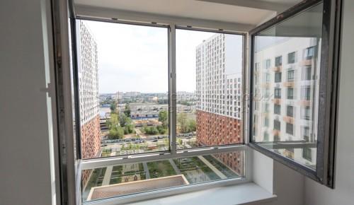 В Москве показали квартиры, которые будут разыграны среди участников онлайн-голосования