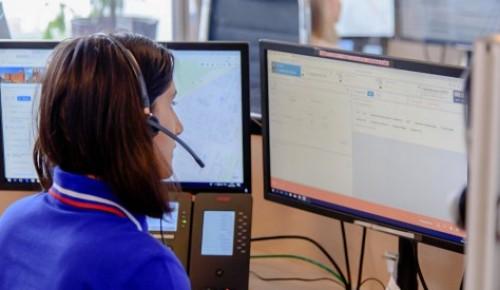 Более 2,7 миллиона вызовов приняли операторы столичной системы 112 в этом году