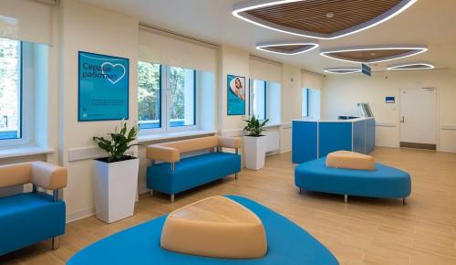 По новому московскому стандарту в детской поликлинике в Черемушках идет капитальный ремонт