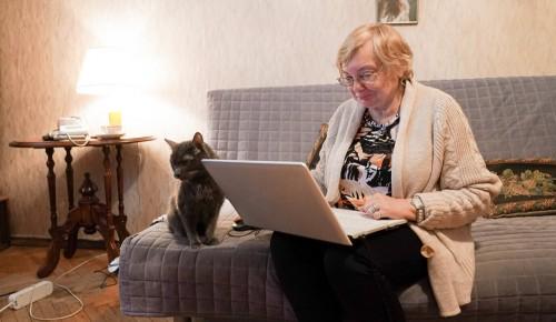 Пенсионеров из Черемушек приглашают принять участие в новых онлайн-мероприятиях от соццентров